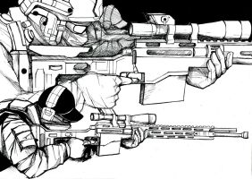 Ghost Recon Snipers by Dampirella