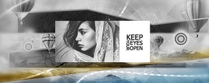 Keep Your Eyes Open Sig by CreativeSteam