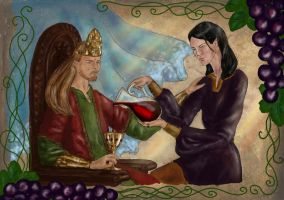 Sweet wine of Numenor by MirachRavaia