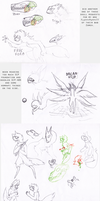 Doodle Dump 23 by Incyray