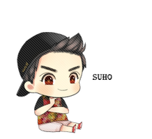 EXO Suho Chibi PNG by SooyoungLover
