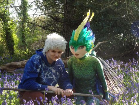 Rise of the Guardians Tooth and Jack Frost by Leedwood