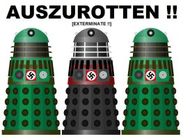 Dr Who - What if the Daleks served Nazi Germany ? by DoctorWhoOne