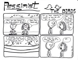 Pessimist: The Birds by Ballerinatwin3