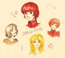 Drummers by FG-Twins
