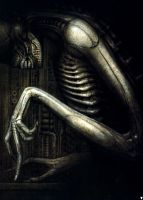 H. R. Giger VI by CamillOnline
