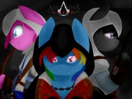 Assassin's Creed - Ponies by Oscarina1234