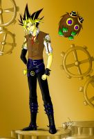 Steampunk Yami by Yami-No-Spirit-luver