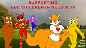 Megamink Supporting BBC Children In Need by Sricketts14381