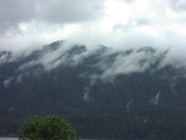 Cloudy mountains by Separate-The-Earth