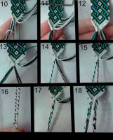 friendship bracelet tutorial 2 by bebe1221