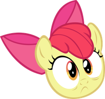 Surprised Applebloom by sapoltop