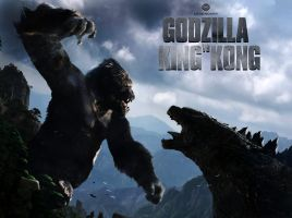 Kingkong vs godzilla - cover by Ucaliptic