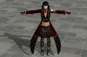 'TES4: Oblivion' Vampire Hunter Set XPS ONLY!!! by lezisell