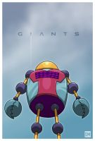 Giant - Robot Randy by DanielMead