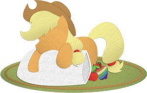 Canvas Paper Applejack by Saw-Buck
