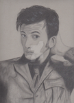 Tenth Doctor Portrait by Lewna