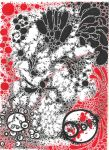 Cancer vs Cells White and Red by JJShaver