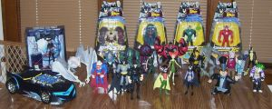 the batman collection by nightwing70