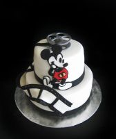 Mickey Mouse Cake by Naera