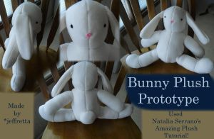 Bunny Plush Prototype by JeffrettaLyn