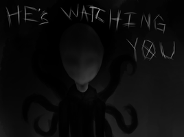 He's watching you... by Anime-Gamer-Girl