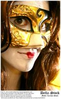 Masked Woman.5 by Della-Stock