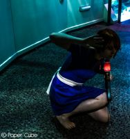 Little Sister - Bioshock Photoshoot by Paper-Cube