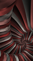 Red Spiral by caffe1neadd1ct