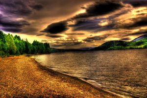 On the banks of Mjosa by Charon1