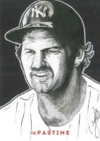 Thurman Munson by JRosales1