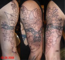 Koi cover up 1 by h8machineh8