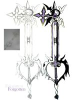 Forgotten Keyblade by 1387
