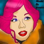 Yvesia as Jennette Mccurdy Cartoon Made by Yvesia