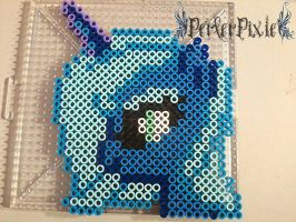 Luna's Head by PerlerPixie