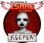 The Binding of Isaac Afterbirth Keeper by AlmaGKrueger