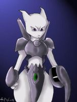 Armored Mewtwo- 2007 by PsyLady