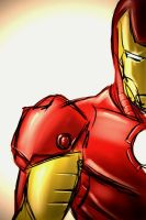 Iron Man iPhone sketch by SheldonGoh