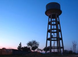 old water tower by ossie-eat-world