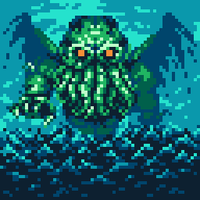 Cthulhu, one of the Great Old Ones by wanyo