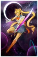 moon prism power by wood-illustration