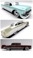 1956 Cadillac/Brougthome- Vilcea Sedan by Pixel-pencil