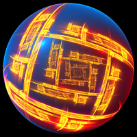 Electronic China Orb by Kazytc
