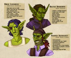 Goblin Group Reference by aureath