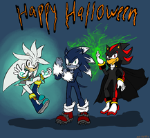 As SSS 39 HAPPY HALLOWEEN (late) by Shadehedgie77