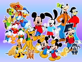 Disney Mickey and his Friends by 9029561