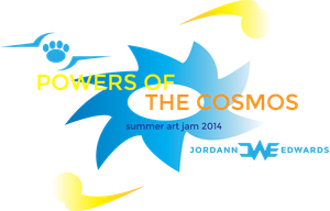 Powers of the Cosmos Art Jam Logo by JWthaMajestic