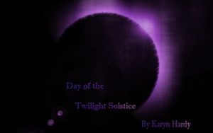 Day of the Twilight Solstice Title Page by The-Serene-Mage