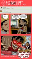 Ask Bad-Ass Luffy - 06 by JaredofArt