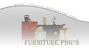 Furniture png pack #03 by yynx151